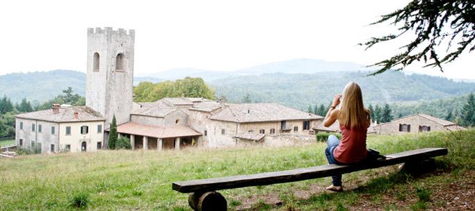 Badia a Coltibuono in Italy