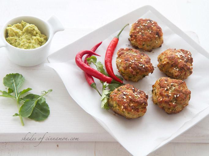 Chicken and Zucchini Rissoles