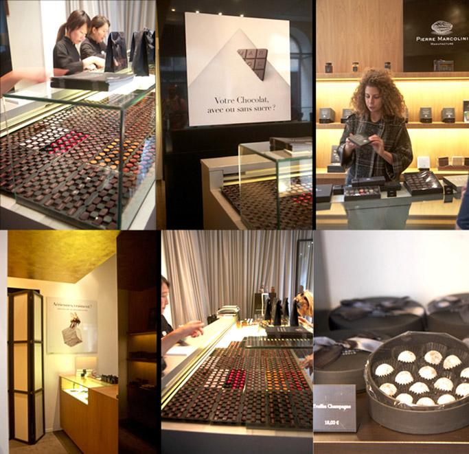 Chocolates and Pastries in Paris