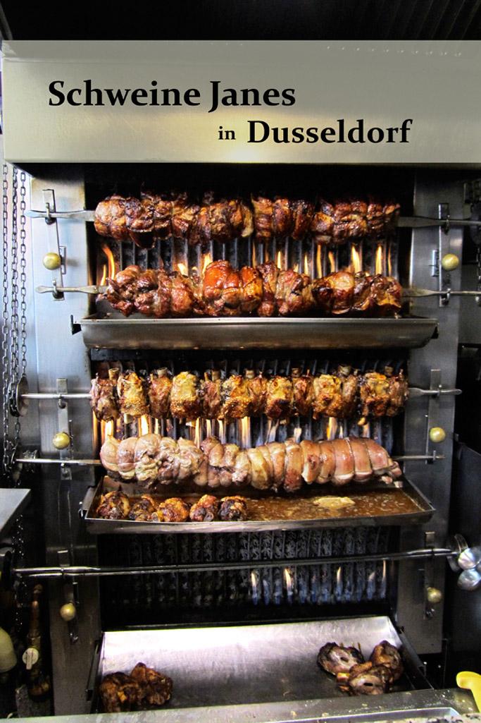 Schweine Jane Dusseldorf