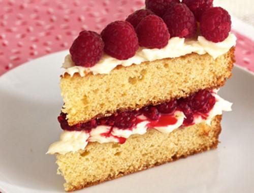Victorian sponge cake
