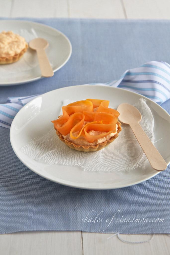 Mascarpone papaya tarts