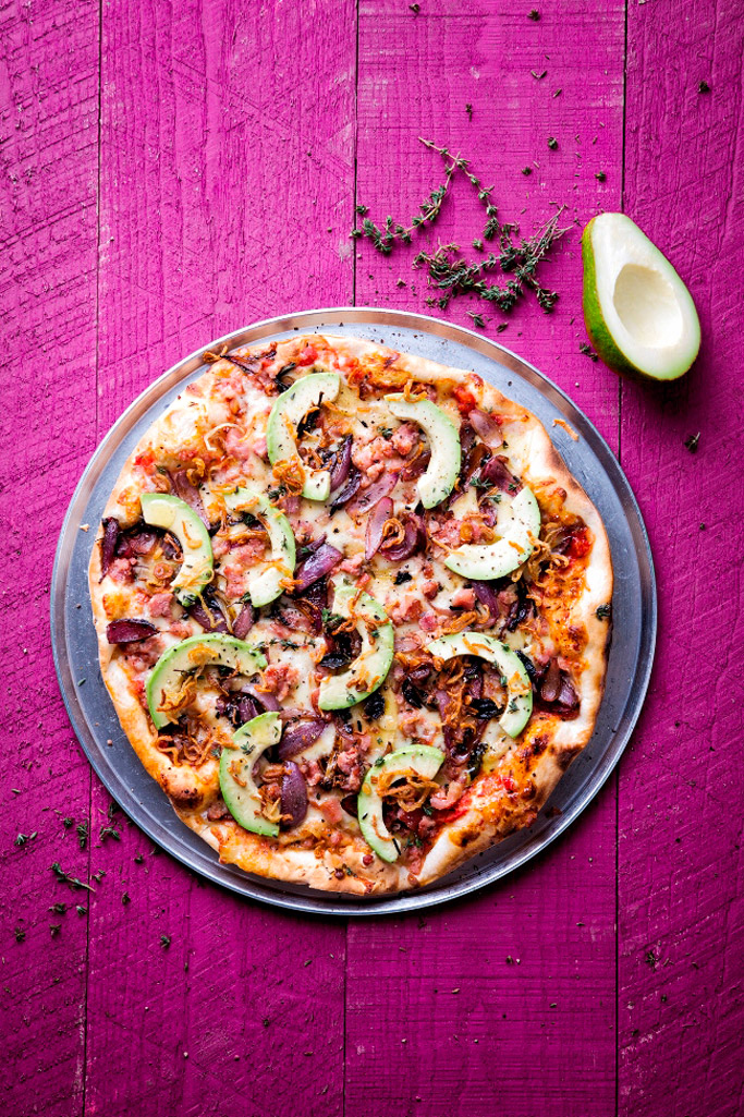 Jade Fairbrother pizza