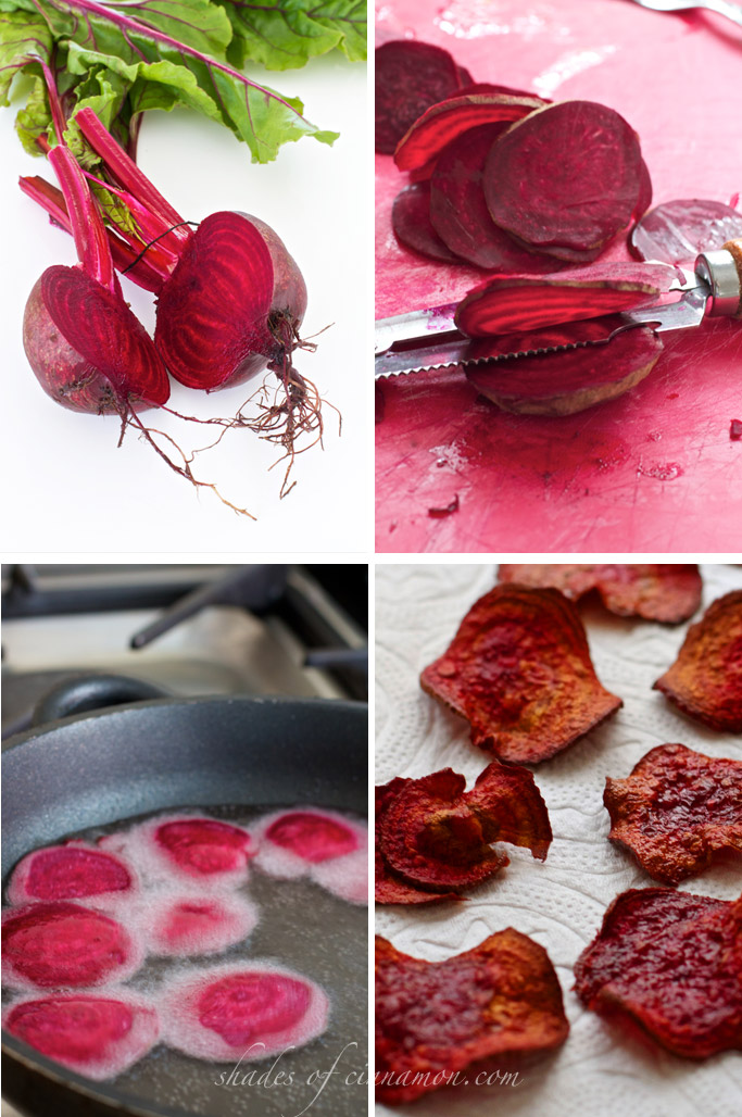 how to make beet chips