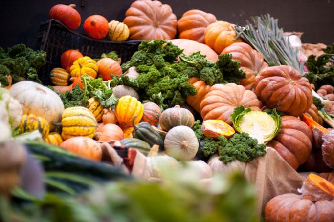 Borough market pumpkins