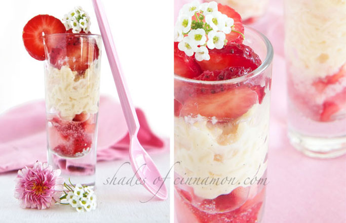 Rosewater-dessert