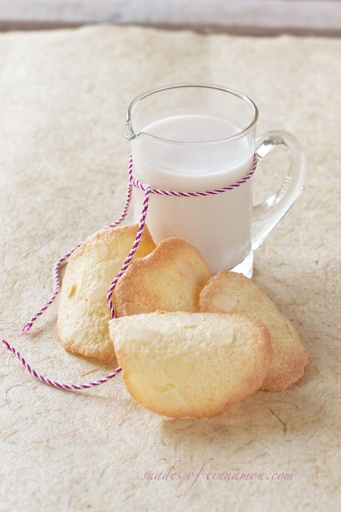 Almond tuiles  gluten free