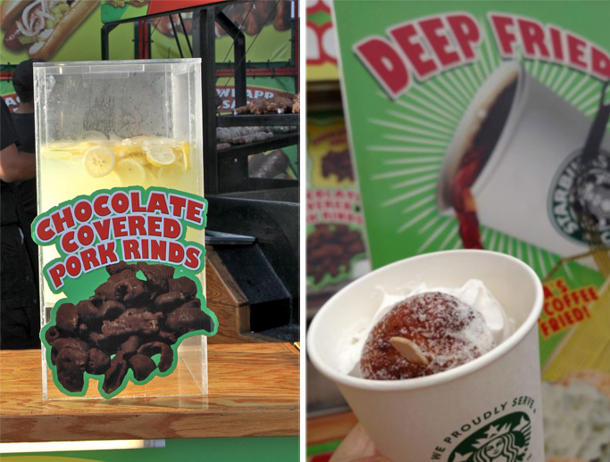 Deep fried starbucks