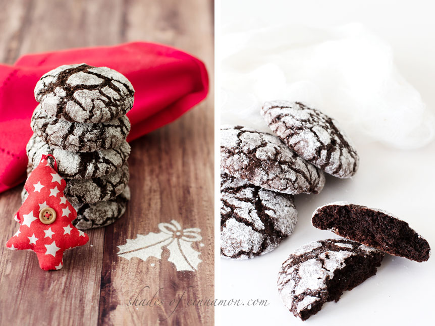 Chocolate-crinkle-cookies-and-christmas-tree