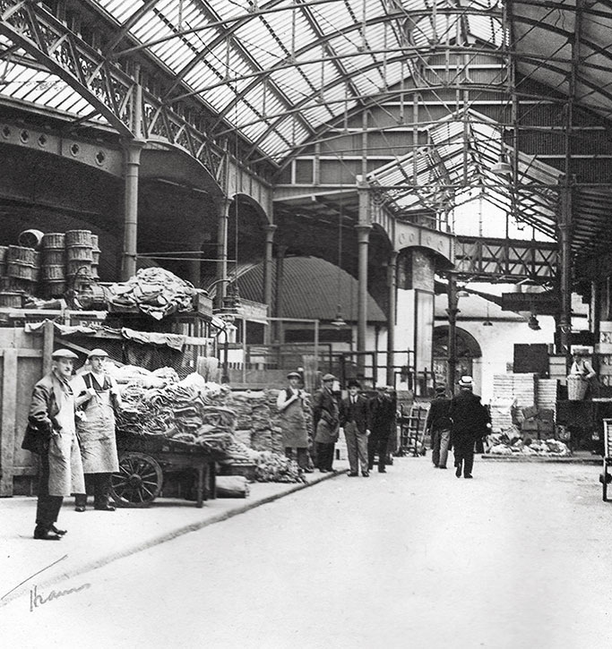 Old Image of borough market