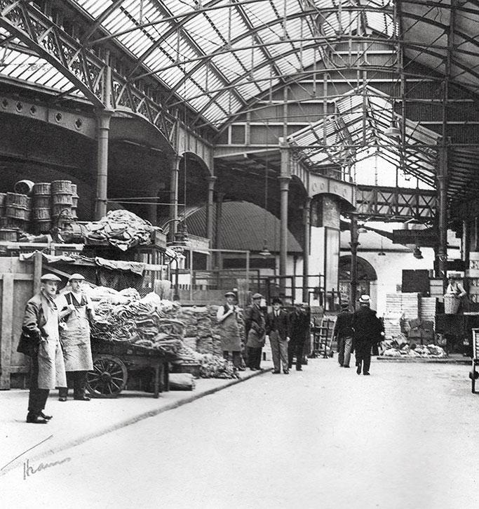 Old Image of borough market