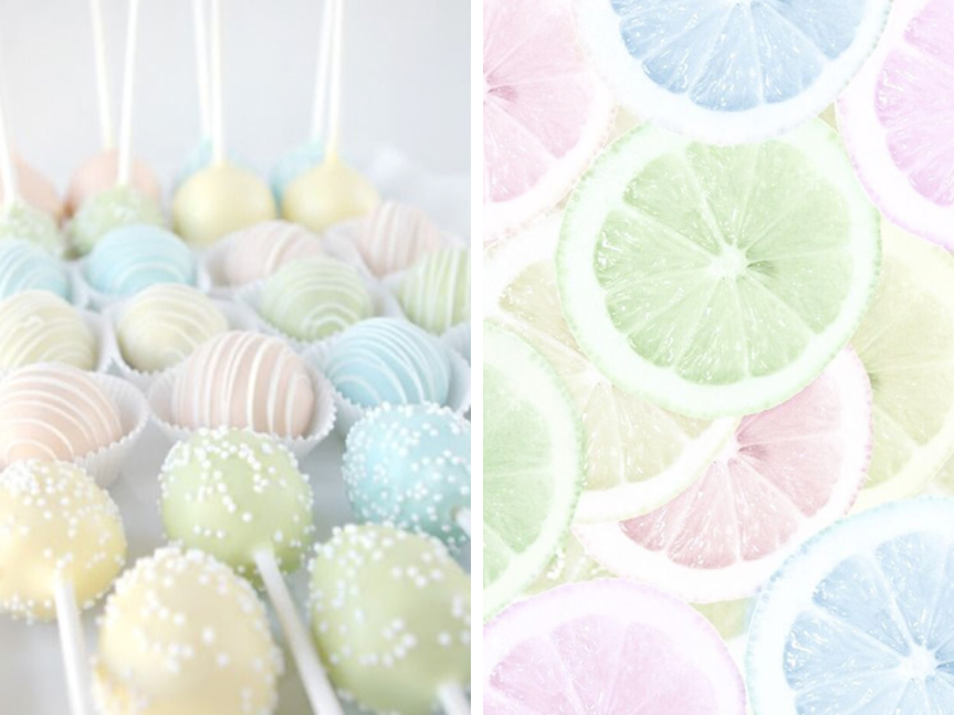 Pretty Pastel Easter Baking Shades Of Cinnamon