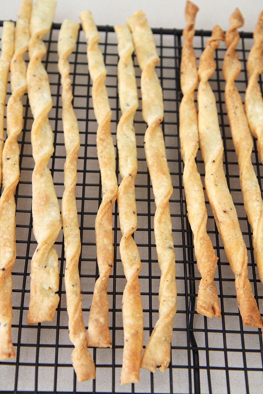 making cheese straws