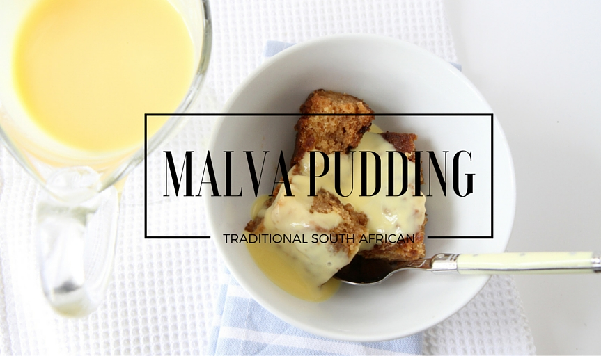 Traditional South African Malva Pudding