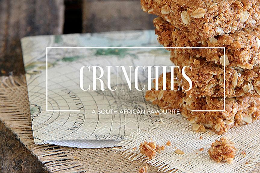 Crunchies like mama makes them