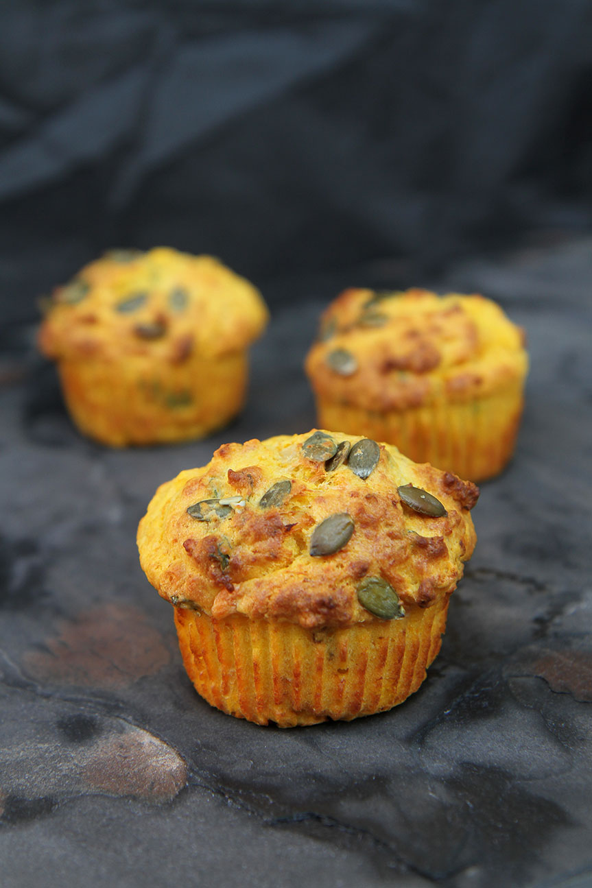 Pumpkin and Parmesan Muffins