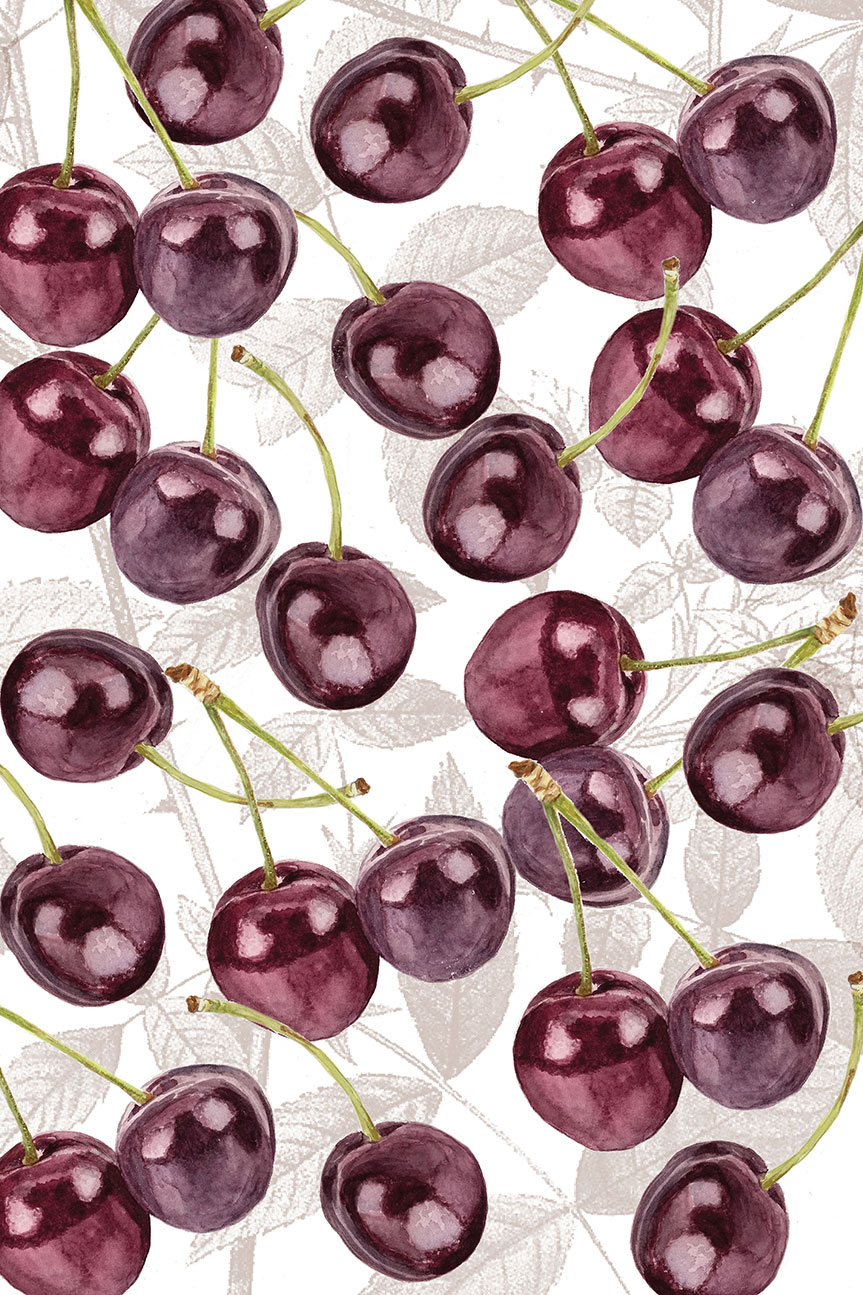 cherry-design-with-background
