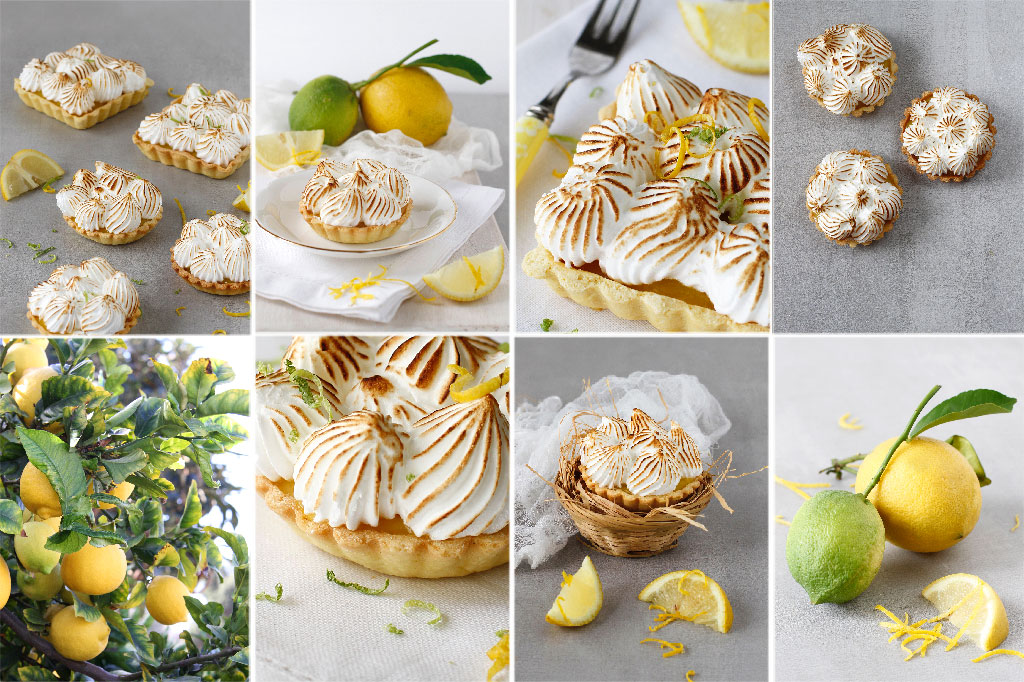 Mini lemon meringue pies