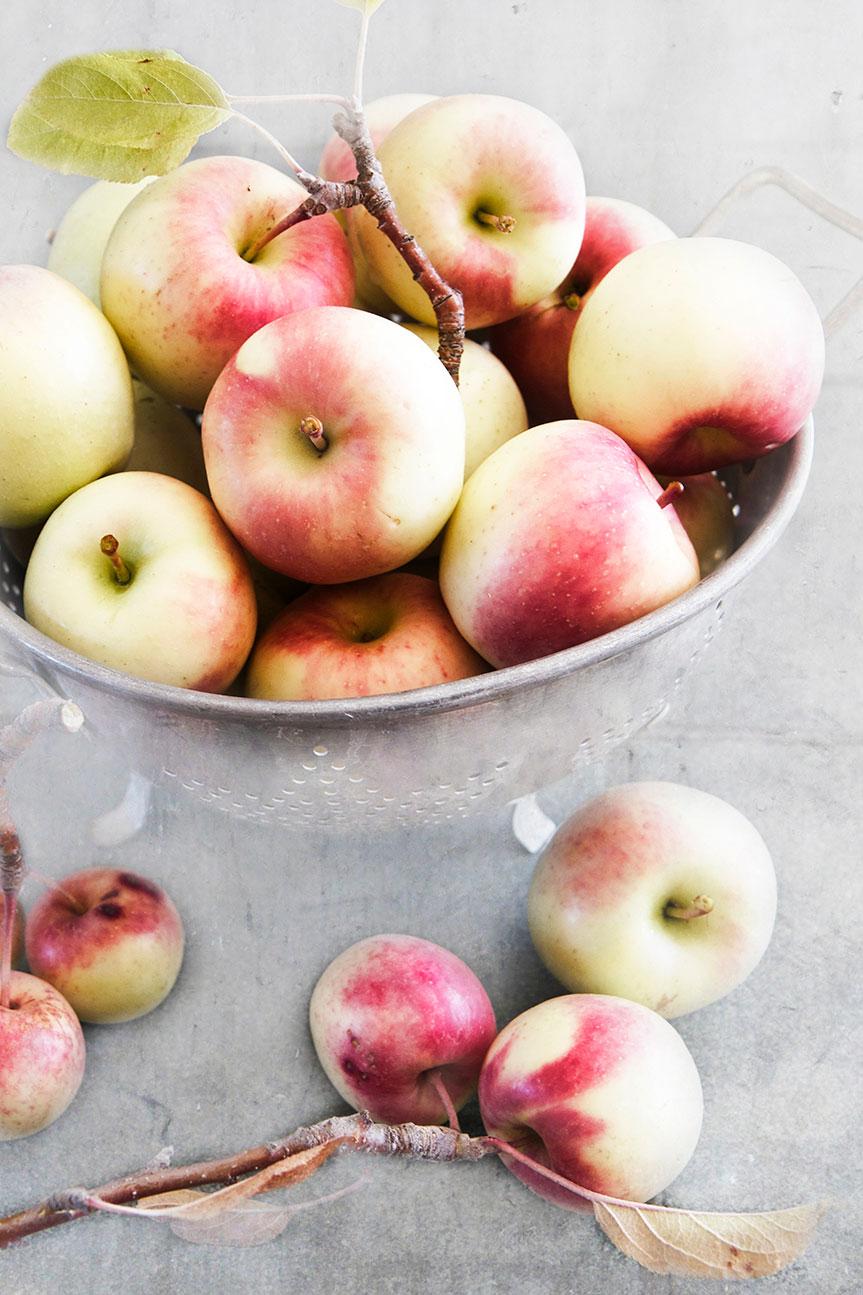 Apples picked for Dutch Apple Loaf