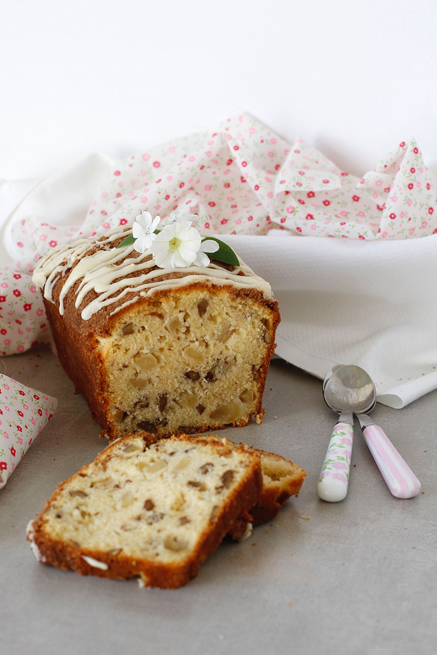 Dutch Apple Loaf sliced