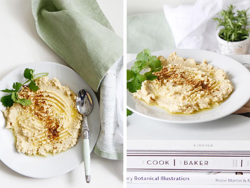 Hummus and falafels