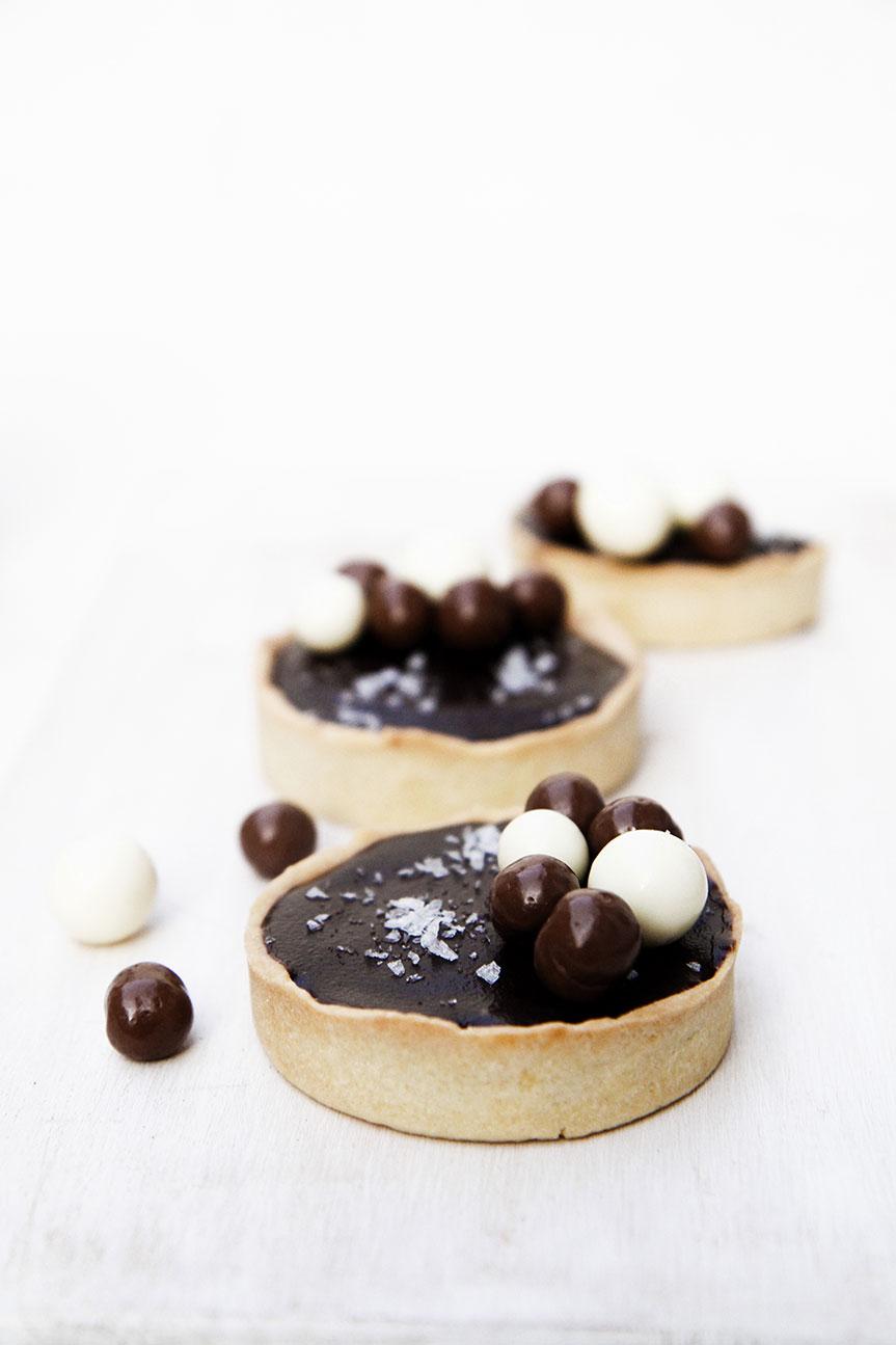 Chocolae tarts