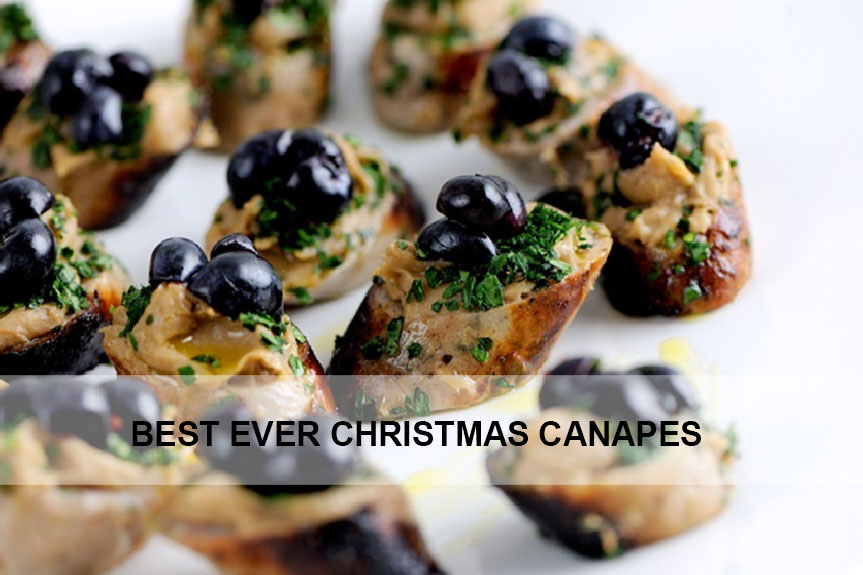 Best ever Christmas Canapes