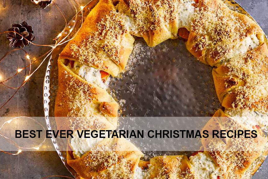 CHRISTMAS vegetarian recipes