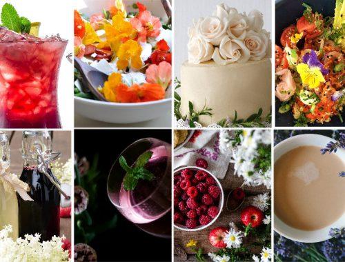 Edible flowers trending for 2018