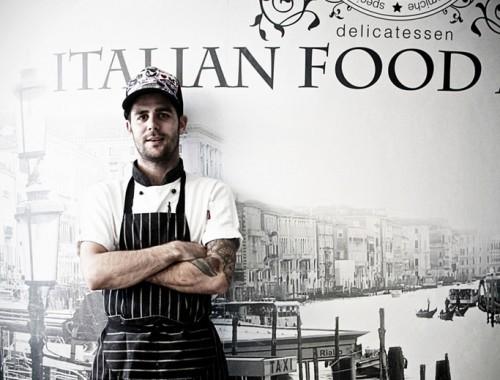 Ray Friedman - portrait of a chef