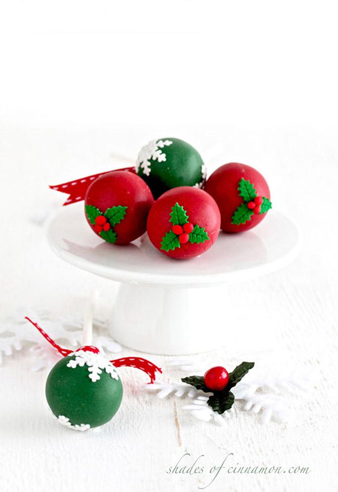 Christmas Cake Pops.Cake Pops For Christmas