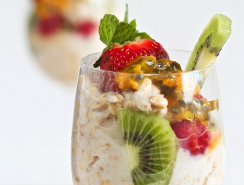 Bircher muesli Power breakfast
