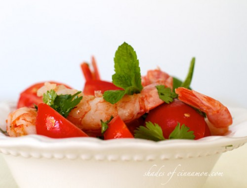 Thai shrimp salad