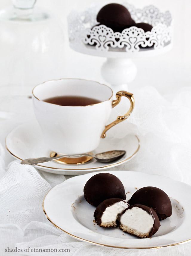 Paul Hollywood S Chocolate Marshmallow Teacakes Shades