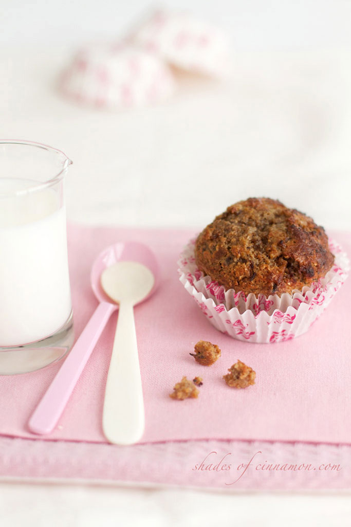 Overnight Bran and Date muffins