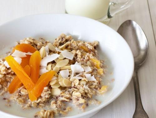Overnight breakfast bowls