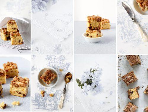 date and walnut coffee cake