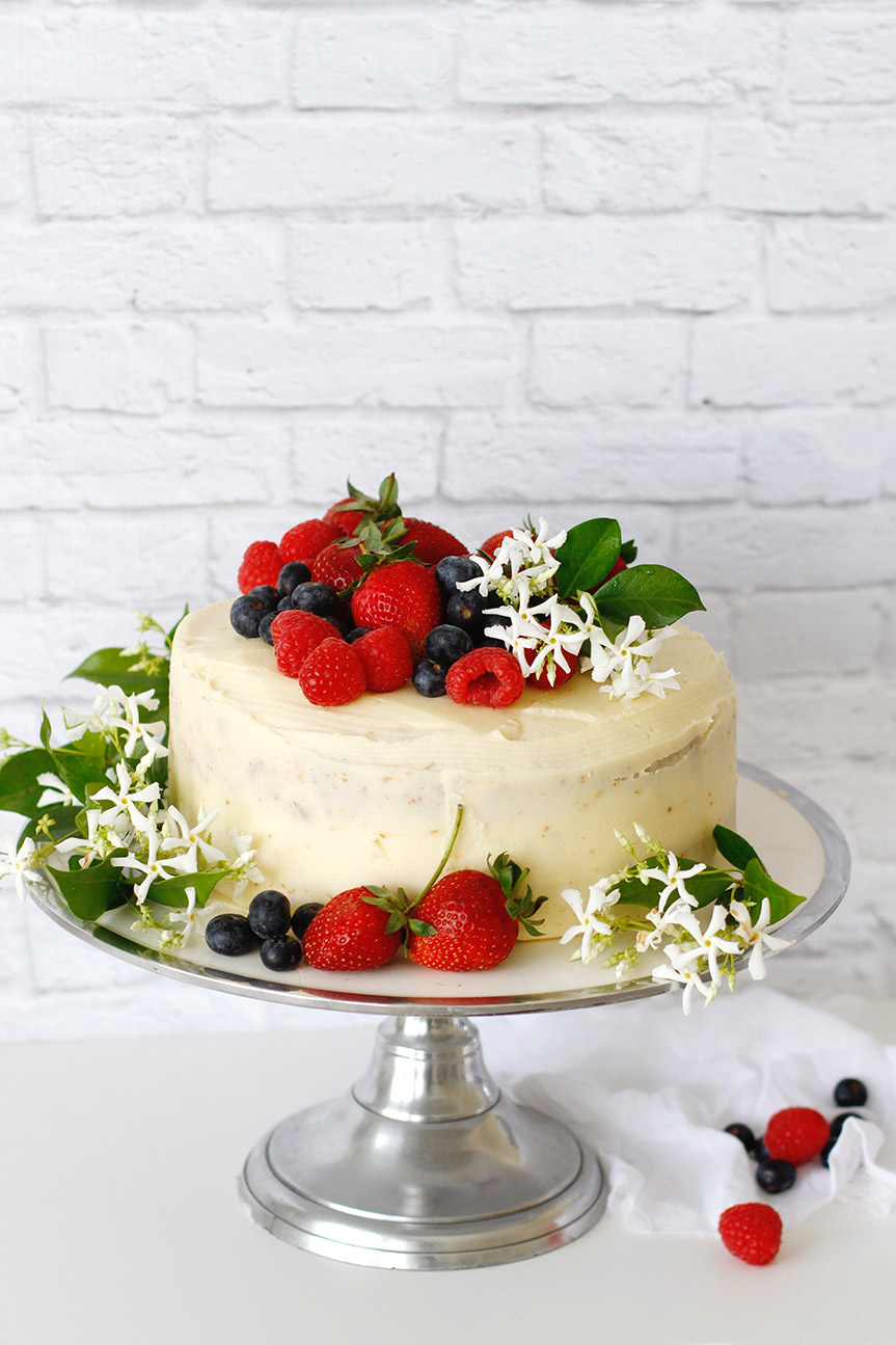 Mascapone Buttercream vanilla cake
